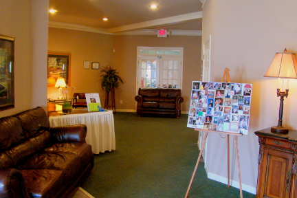 Interior shot of the clubhouse at Collins Hill Golf Club